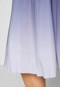 MY TRUE ME TOM TAILOR - PLEATED MIDI SKIRT - A-line skirt - real navy blue - 5