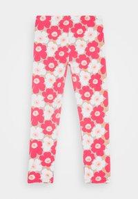 Marimekko - LAIRI UNIKKO TROUSERS - Leggings - Trousers - beige/pink/white - 1
