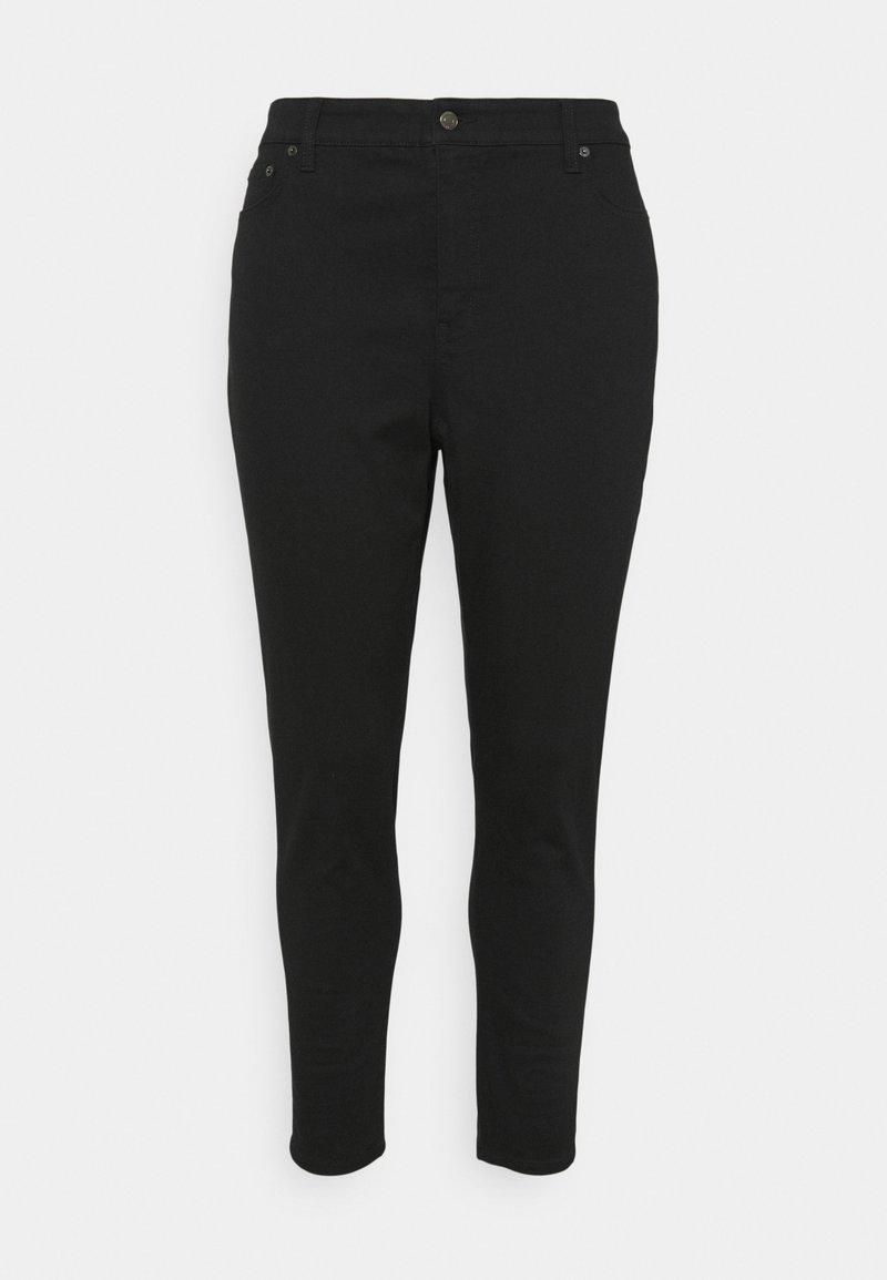 Lauren Ralph Lauren Woman - 5-POCKET - Jeans Skinny Fit - black wash