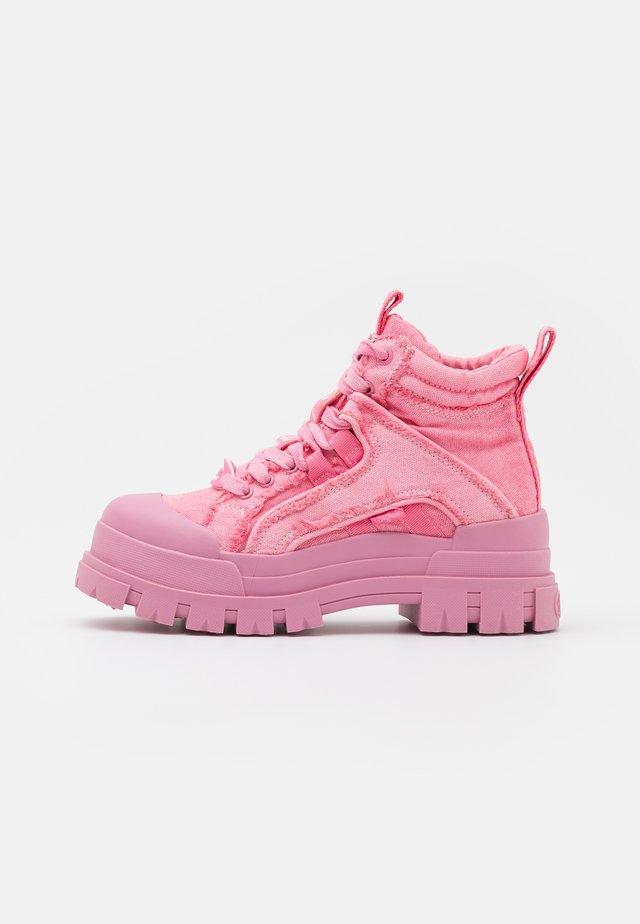 ASPHA MID - Sneakers high - pink