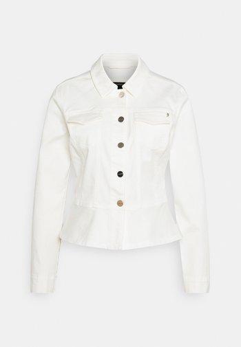 Džínová bunda - white