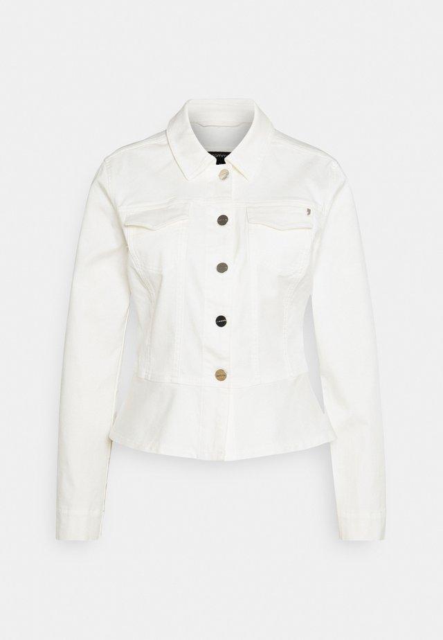 Kurtka jeansowa - white