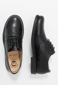 Melania - Šněrovací boty - black - 0
