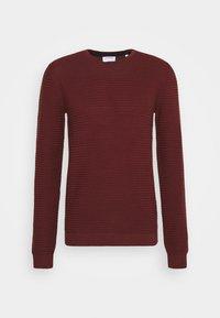 STRUCTURE - Sweter - bordeaux