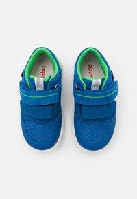 Superfit - SPORT MINI - Boty se suchým zipem - blau/grün - 3