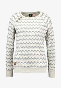 Ragwear - DARIA ZIG ZAG - Sweatshirt - beige - 4