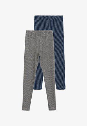 2 PACK ARCHIPK-I - Leggings - Trousers - noir
