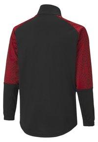 Puma - AC MILAN - Club wear - black-tango red - 1