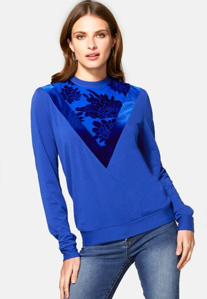 Sweatshirt - royal blue