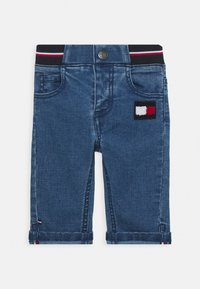 Tommy Hilfiger - BABY BOY FLAG PANT - Slim fit jeans - denim - 0