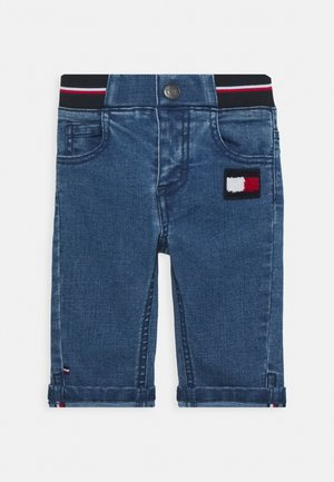 BABY BOY FLAG PANT - Džíny Slim Fit - denim
