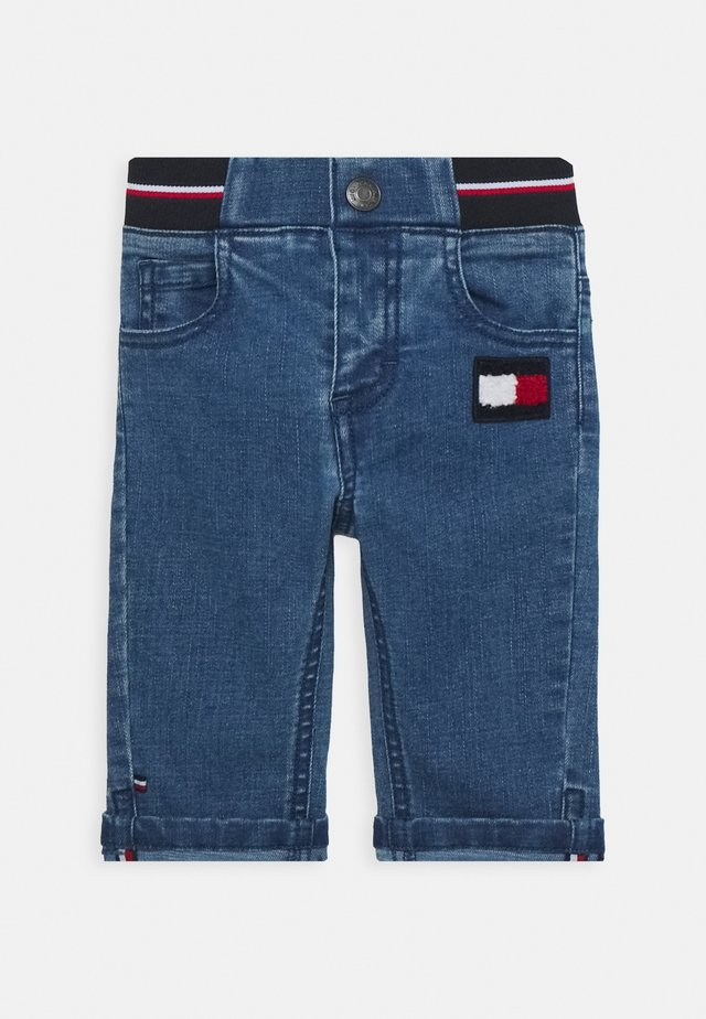 BABY BOY FLAG PANT - Slim fit jeans - denim