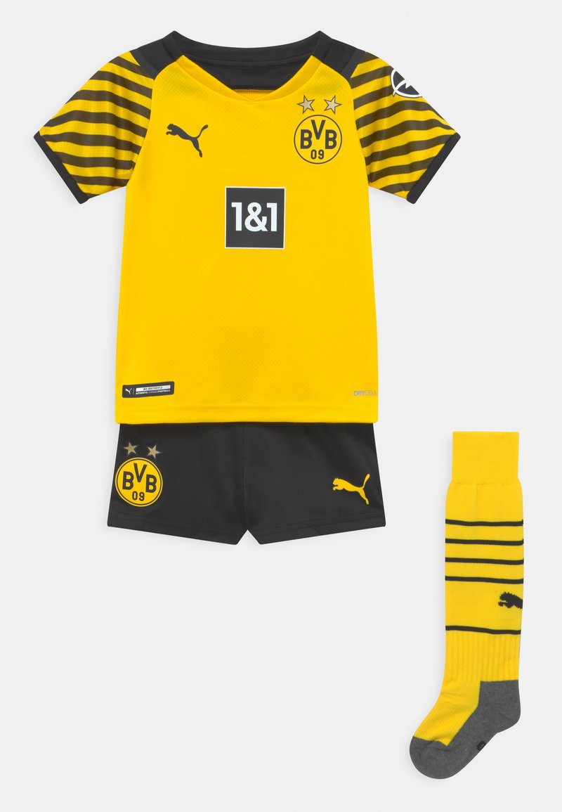 Puma - BVB BORUSSIA DORTMUND SET - Pelipaita - cyber yellow/black