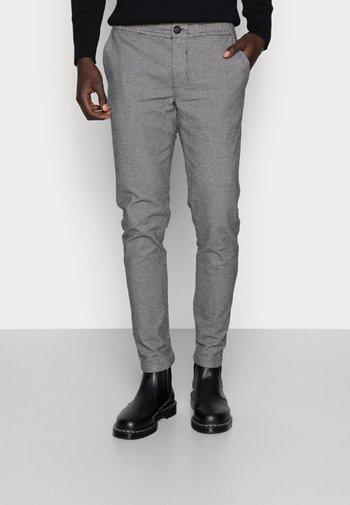 KING PANTS - Chinot - grey check