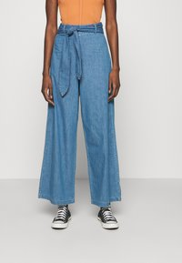 Denham - PALAZZO PANT  - Relaxed fit jeans - blue - 0