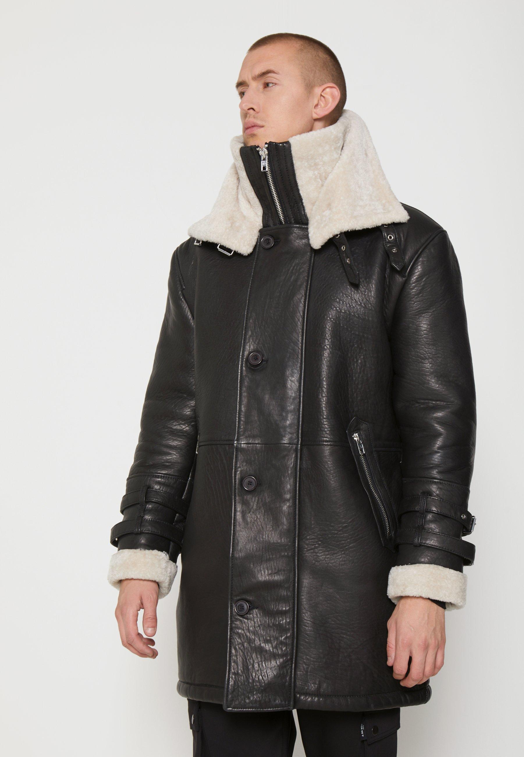 Men BEBARRY - Leather jacket