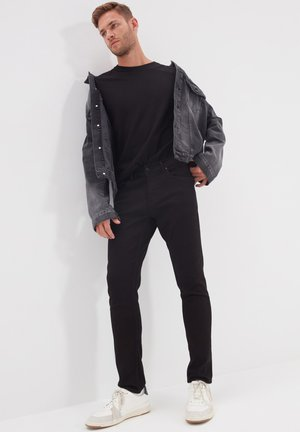 TRENDYOL PARENT-121809815 - Veste en jean - grey