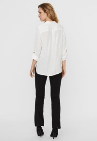 Vero Moda - Button-down blouse - snow white - 2