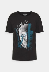 JORTONE TEE CREW NECK - Print T-shirt - black