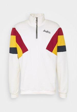 UNISEX CREW DERECK CRUDO - Sweatshirt - white