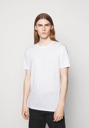 COMA - Jednoduché triko - white