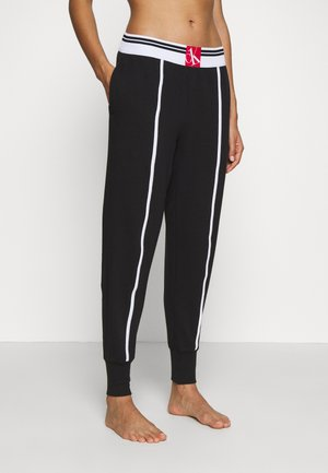 ONE SOCK LOUNGE JOGGER - Pyjama bottoms - black