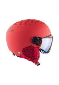 Alpina - ZUPO VISOR - Helmet - red matt - 2