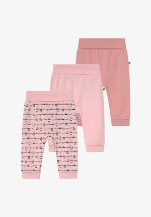 PANDA LOVE 3 PACK - Pantaloni - light pink