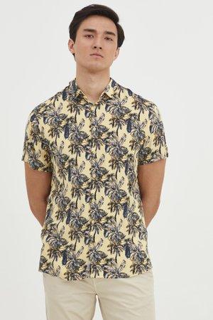 SHIRT - Shirt - pale banana