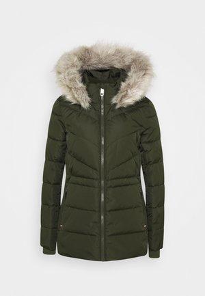 PADDED - Winter jacket - camo green