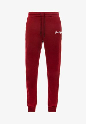 SIGNATURE - Pantaloni sportivi - burgundy