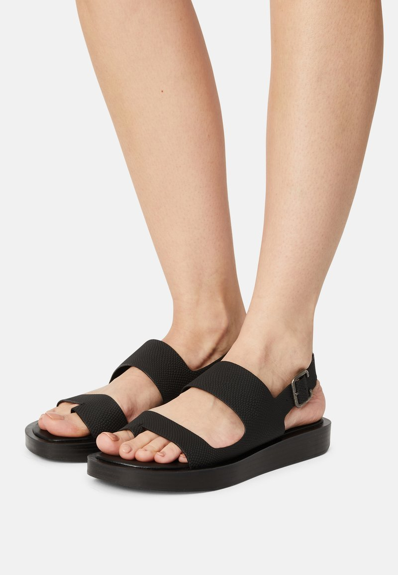 Who What Wear - ASHLEY - T-bar sandals - black