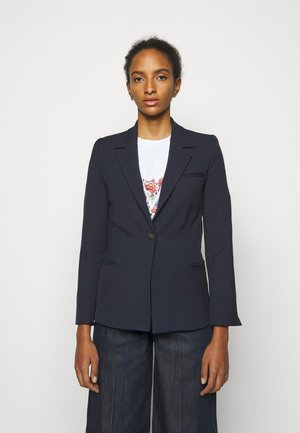 SLIM FIT TAILORING JACKET - Blazer - grey navy