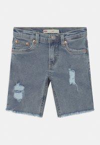 Levi's® - SLIM FIT ECO FLEX - Shorts di jeans - light-blue denim - 0