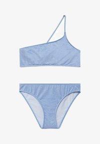 Mango - LUREXBK - Bikini - porseleinblauw - 0