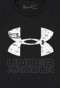 Under Armour - TECH HYBRID LOGO UNISEX - Triko spotiskem - black - 2