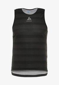 ODLO - CREW NECK SINGLET ZEROWEIGHT - Sports shirt - graphite grey /black - 3