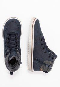 Friboo - Sneakersy wysokie - dark blue - 1