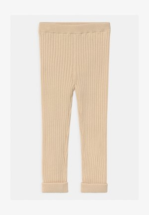 UNISEX - Leggings - Trousers - beige dusty light