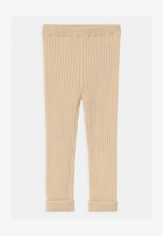 UNISEX - Legging - beige dusty light
