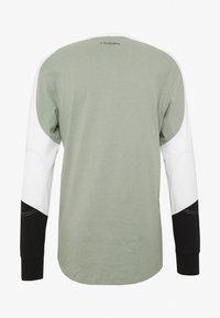 G-Star - BASEBALL R T L\S - Long sleeved top - olive/white/black - 1