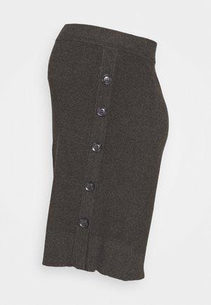 Pencil skirt - charcoal