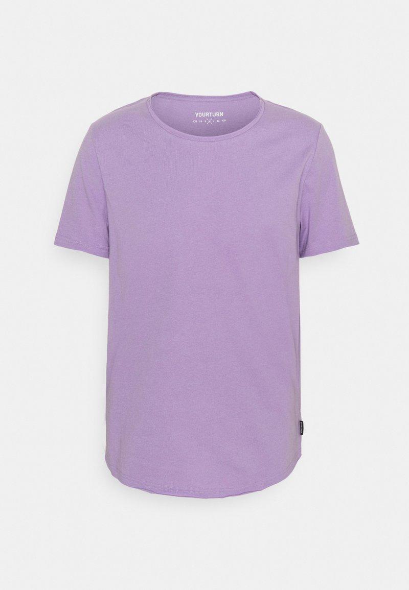 YOURTURN - UNISEX - Basic T-shirt - purple