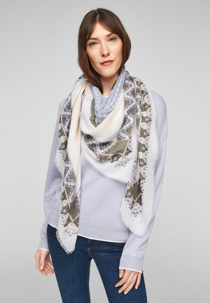 Scarf - offwhite aop