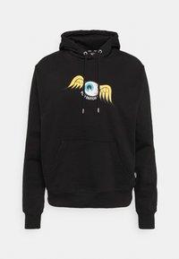 MATHY EYEBALL HOODIE - Sweatshirt - black