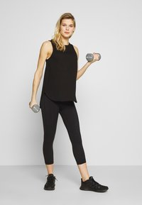 Cotton On Body - MATERNITY ACTIVE CURVE TANK - Top - black - 1