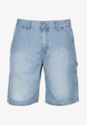 CARPENTER - Denim shorts - lighter washed