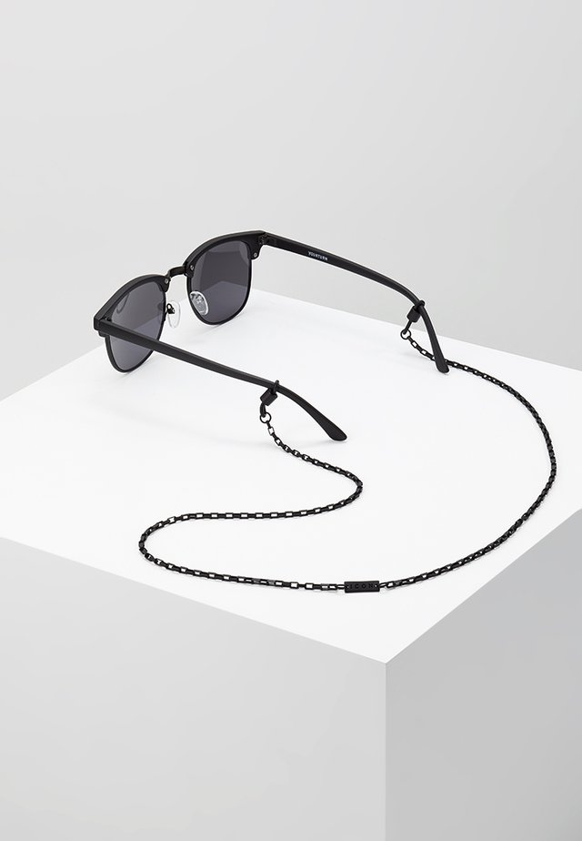 JUNCTION SUNGLASS CHAIN - Necklace - black
