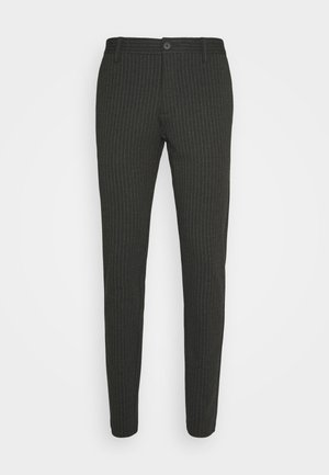 ONSMARK PANT STRIPE - Trousers - dark grey melange