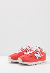 New Balance - 574 - Trainers - red/white - 2